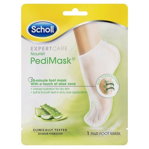 Scholl Dry Skin Aloe Vera Pedimask 1 Pair Scholl SuperPharmacyPlus