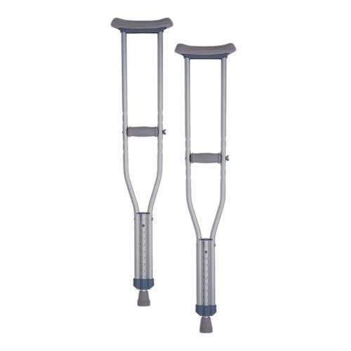 Aluminium Underarm Crutches - Youth Size MaxMobility SuperPharmacyPlus