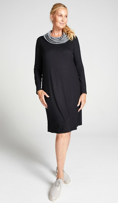 Cowl Neck Leaf Back Dress or Christina Stephens Christina Stephens SuperPharmacyPlus