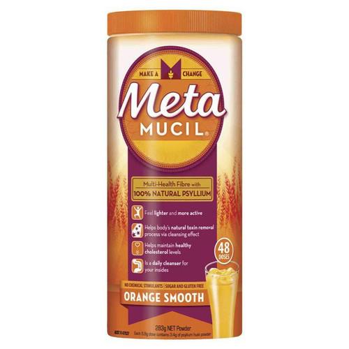 Metamucil Orange Smooth Fibre 48 Doses 283g Metamucil SuperPharmacyPlus
