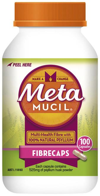 Metamucil 100 Capsules Metamucil SuperPharmacyPlus