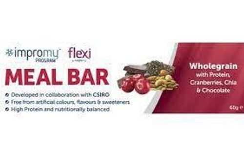 Impromy Flexi Snack Bar Wholegrains with Cranberry, Nuts, Seeds and Chocolate 30g Impromy SuperPharmacyPlus