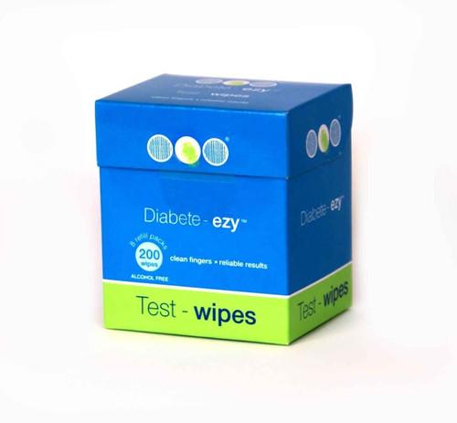 Diabete - Ezy Test Wipe Refill Pack 200 DiabeteEzy SuperPharmacyPlus
