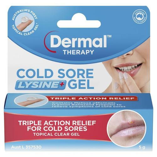 Dermal Therapy Cold Sore Lysine Gel 5g Dermal Therapy SuperPharmacyPlus