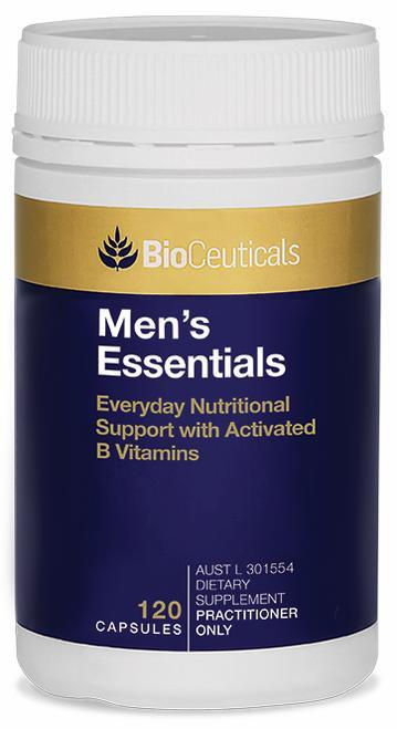 Bioceuticals Mens Essentials 120 Capsules BioCeuticals SuperPharmacyPlus
