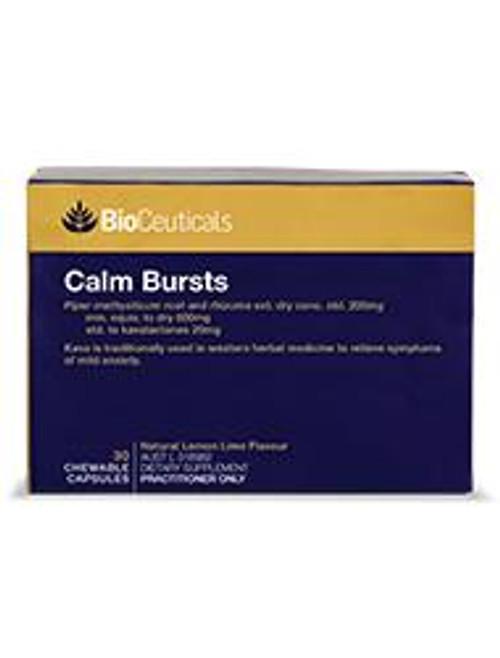 Bioceuticals Calm Bursts 30 Capsules BioCeuticals SuperPharmacyPlus