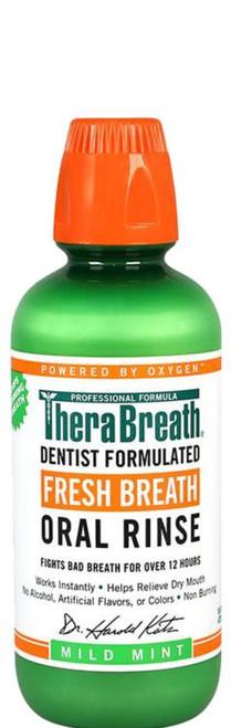 TheraBreath Fresh Breath Oral Rinse 473mL Brauer SuperPharmacyPlus