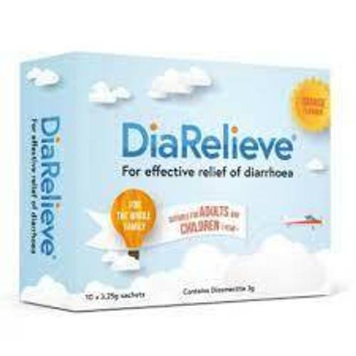 DiaRelieve 10x 3.25g Orange Flavoured Sachets AFT Pharmaceuticals SuperPharmacyPlus