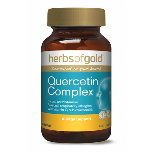 Herbs of Gold Quercetin Complex 60 Tablets Herbs of Gold SuperPharmacyPlus