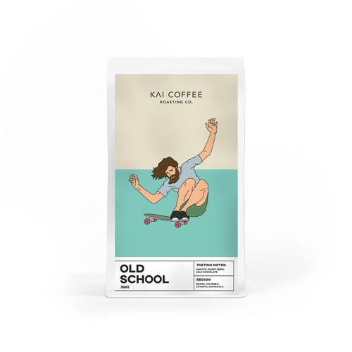 KAI Coffee Old School Blend Whole Beans 500g KAI Coffee SuperPharmacyPlus