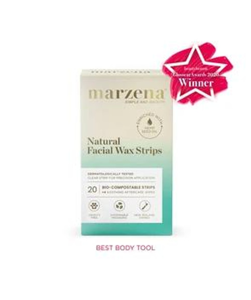 Marzena Natural Facial Wax Strips 20 Marzena SuperPharmacyPlus