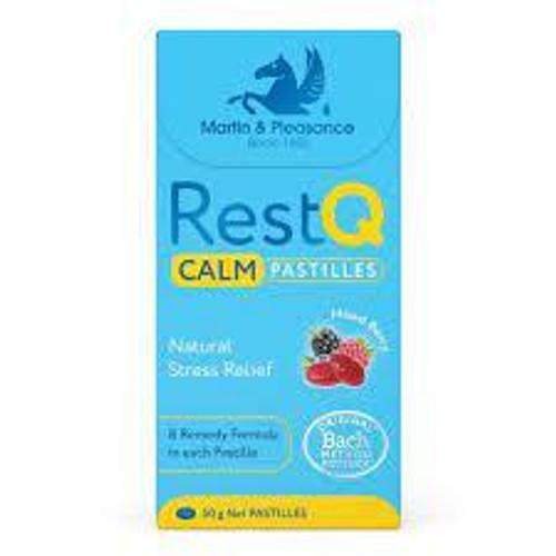 Rest Q Calm Pastilles 50g Martin and Pleasance SuperPharmacyPlus