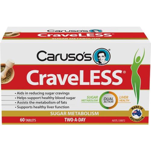 Carusos CraveLESS 60 Tablets Carusos SuperPharmacyPlus