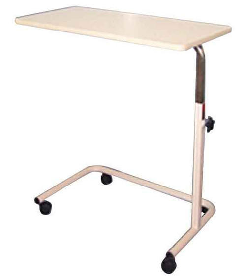 Over Bed Table Adjustable Height Patterson Medical SuperPharmacyPlus