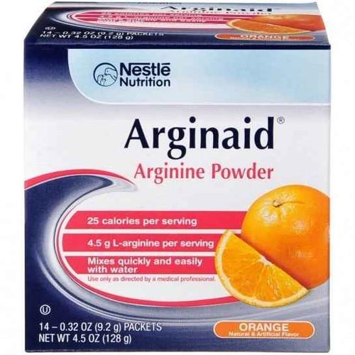 Arginaid Powder Orange 14 Sachets Nestle Nutrition SuperPharmacyPlus