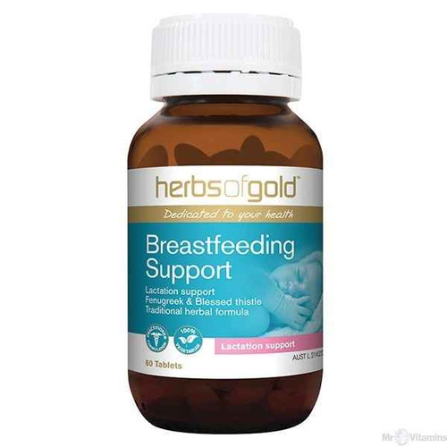 Herbs of Gold Breastfeeding Support 60 Tablets Herbs of Gold SuperPharmacyPlus