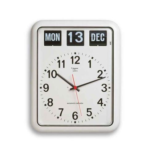 Giant Analogue Calendar Clock with Automatic Calendar Jadco SuperPharmacyPlus