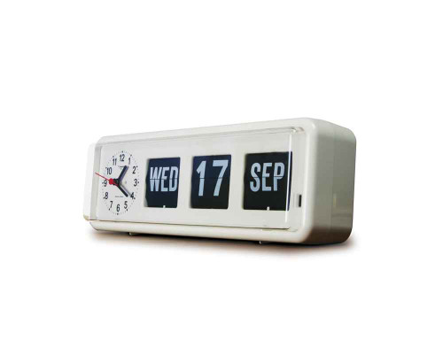 Large Automatic Calendar with Analogue Clock Jadco SuperPharmacyPlus