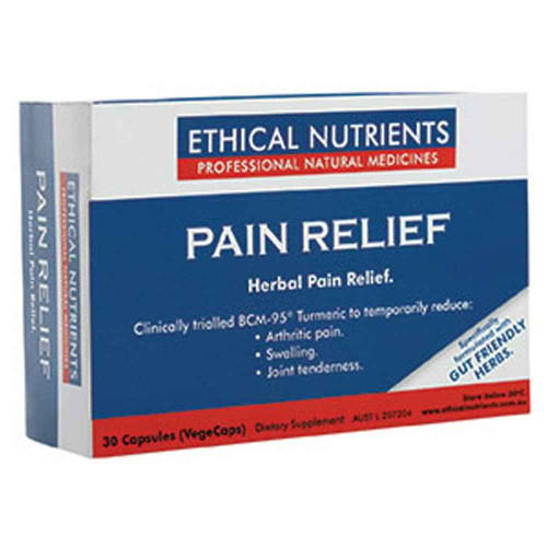 Ethical Nutrients Pain Relief 30 Capsules Ethical Nutrients SuperPharmacyPlus