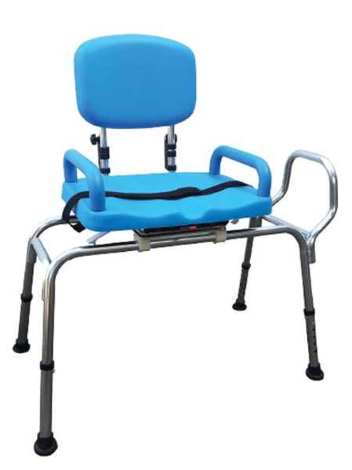 Bath Transfer Bench - Rotatable Seat or 130kg Wt Cap Freedom Health Care SuperPharmacyPlus