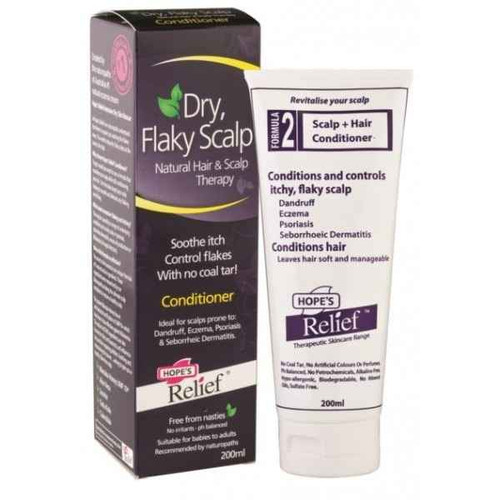 Hopes Relief Conditioner for itchy, flaky scalp 200ml Body and Soul Health Products Pty Ltd SuperPharmacyPlus