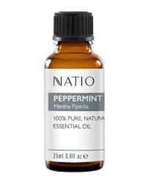 Natio peppermint essential oil 100percent pure and natural 10ml Natio SuperPharmacyPlus