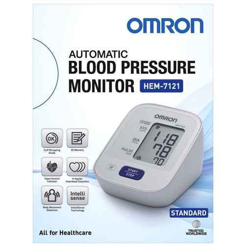 Omron Automatic Blood Pressure Monitor HEM-7121 Omron SuperPharmacyPlus