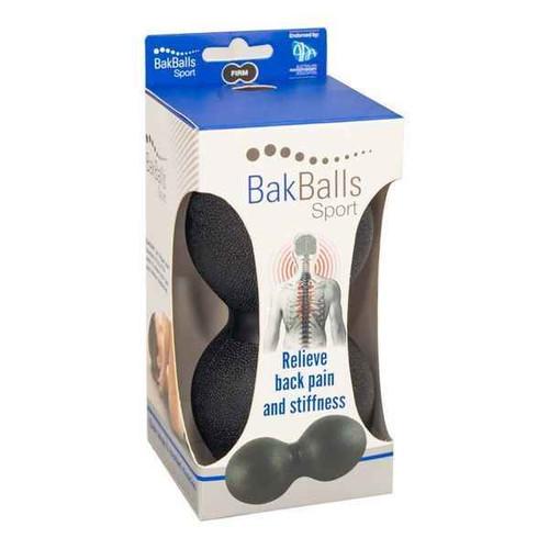 Bakballs Sport Black BakPhysio Pty Ltd SuperPharmacyPlus