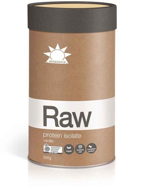 Amazonia Raw Protein Isolate Vanilla 500g Amazonia SuperPharmacyPlus