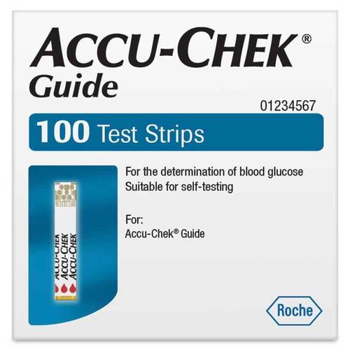 Accu-Chek Guide BGlucose Test Strips 100 strips Accu-Chek SuperPharmacyPlus