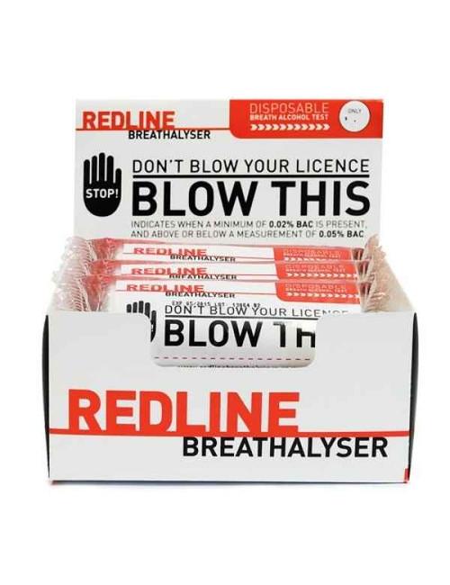 Redline Breathalyser Disposable Breath Alcohol Test x1 Redline Breathalyser SuperPharmacyPlus