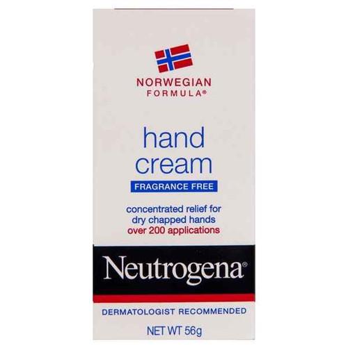 Neutrogena Norwegian Hand Fragrance Free Cream 56g Neutrogena SuperPharmacyPlus