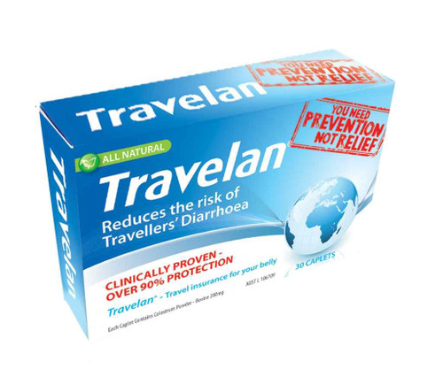 Travelan 30 Capsules Travelan SuperPharmacyPlus