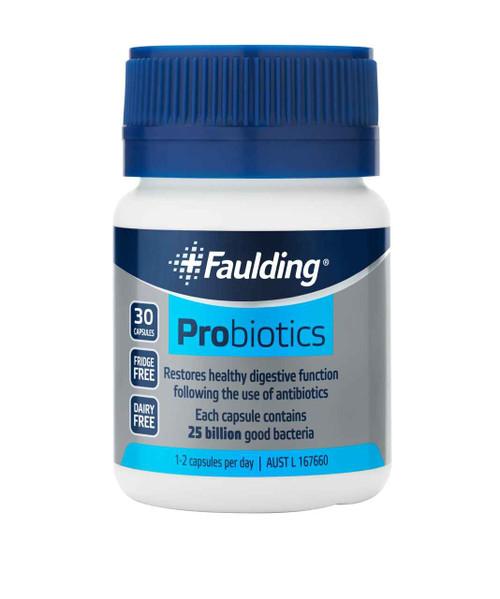 Faulding Probiotics - 30 Capsules Faulding SuperPharmacyPlus