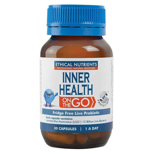 Ethical Nutrients Inner Health on the Go 30 Capsules Ethical Nutrients SuperPharmacyPlus
