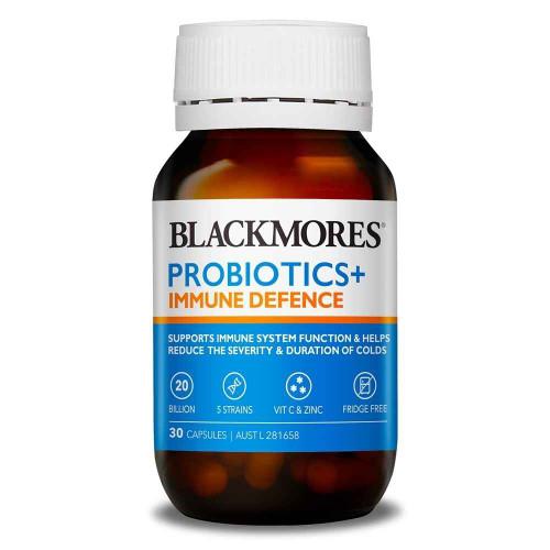 Blackmores Probiotics Immune Defence 30 Capsules Blackmores SuperPharmacyPlus