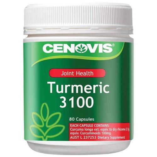 Cenovis Joint Health Turmeric 3100 80 Capsules Cenovis SuperPharmacyPlus