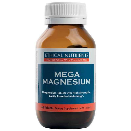 Ethical Nutrients Mega Magnesium 60 Tablets Ethical Nutrients SuperPharmacyPlus
