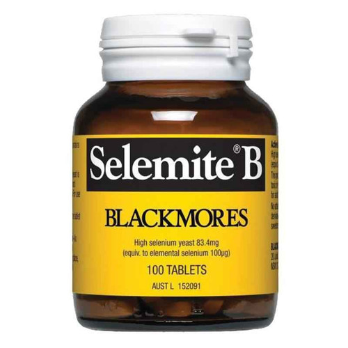 Blackmores Selemite B 100 tablets Blackmores SuperPharmacyPlus