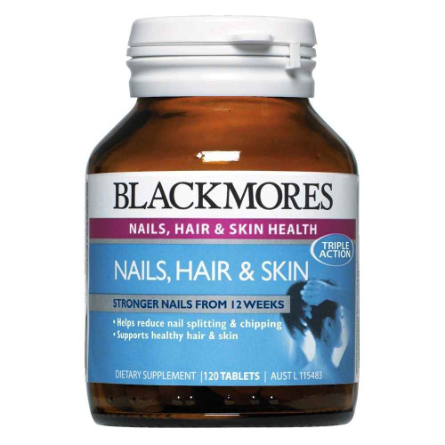 Blackmores Nails, Hair and Skin 60 tablets Blackmores SuperPharmacyPlus