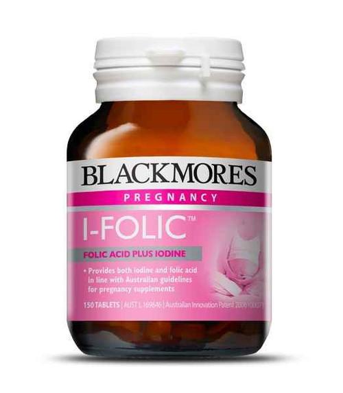 Blackmores I-Folic 150 tablets Blackmores SuperPharmacyPlus