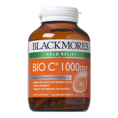 Blackmores Bio C 1000mg 150 Tablets Blackmores SuperPharmacyPlus