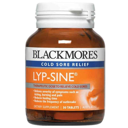Blackmores Lyp-Sine 30 Tablets Blackmores SuperPharmacyPlus