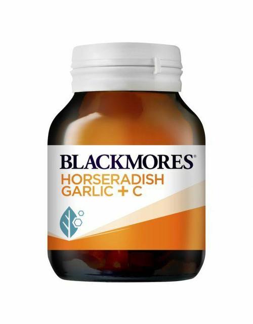 Blackmores Horseradish, Garlic C 50 Tablets Blackmores SuperPharmacyPlus