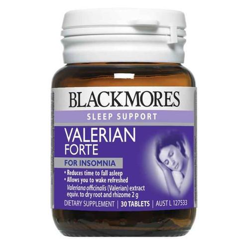 Blackmores Valerian Forte 2000mg 30 Tablets Blackmores SuperPharmacyPlus