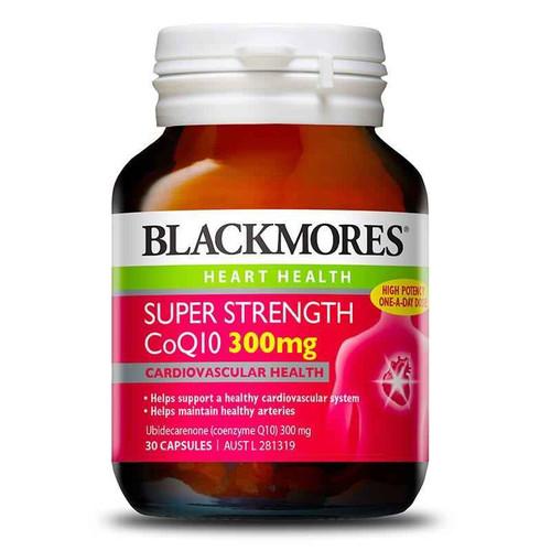 Blackmores Super Strength CoQ10 300mg 30 Capsules Blackmores SuperPharmacyPlus