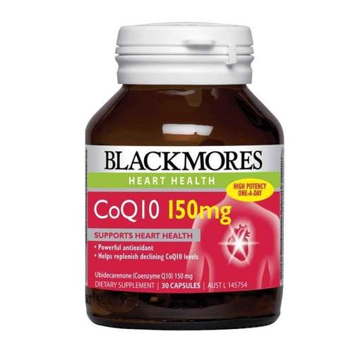 Blackmores CoQ10 150mg 30 Capsules Blackmores SuperPharmacyPlus