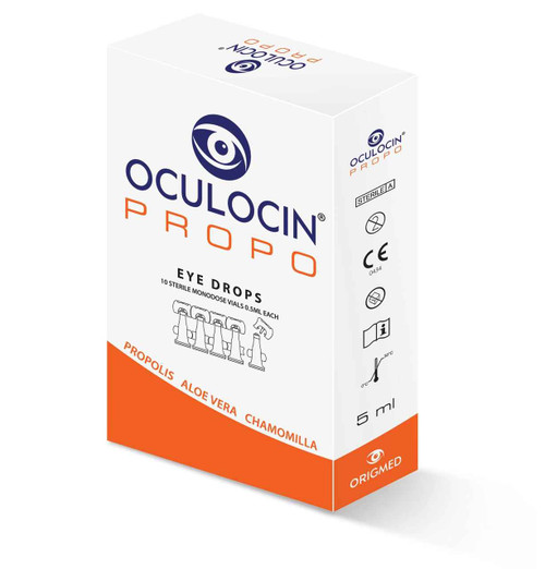 Oculocin Propo for Conjunctivitis and Dry Eye 5mL 10 x 0.5mL vials Contact Lens Centre SuperPharmacyPlus