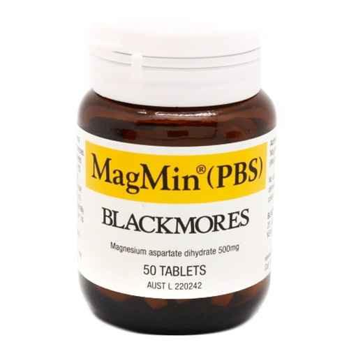 Blackmores MagMin 50 Tablets Blackmores SuperPharmacyPlus