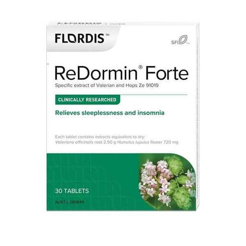 Flordis Redormin Forte 30 Tablets Flordis SuperPharmacyPlus
